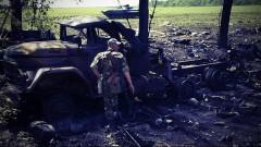 Ополченцы подбили БТР и БМП у аэропорта Краматорска