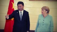 Ангела Меркель договаривается с Китаем