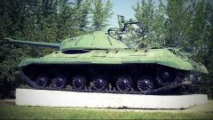 Танк Иосиф Сталин-3 разгромил блокпост на Донбассе есть погибшие