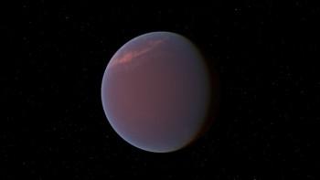 Водяной пар присутствует в атмосфере экзопланеты