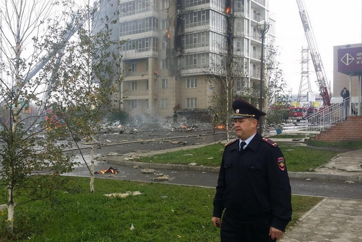 красноярск пожар 21 сентября 2014